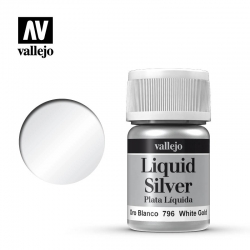 Vallejo Liquid Gold 70.796 White Gold 35ml