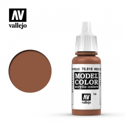 Vallejo Model Color 70.818 RED LEATHER 17 ml