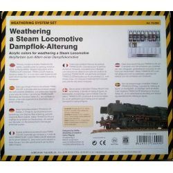 Vallejo Weathering a Steam Locomotive sets 73.099 9x17 ml