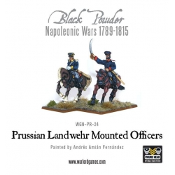 Prussian Mounted Officers , WGN-PRU-21